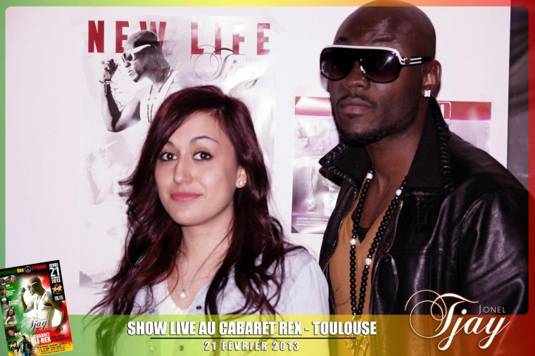Concert Jonel Tjay au Rex  Toulouse