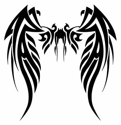 Pin dessin ailes d ange fruski board pelautscom on pinterest - Dessin d ange ...